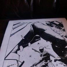 Cómics: DEATHSTROKE #7 REBIRTH.PORTADA. ACO. ART COMIC ORIGINAL. Lote 70292449