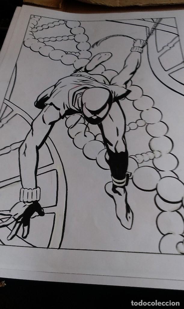 SPIDER SCARLATA. PIN UP. ACO. ART COMIC ORIGINAL (Tebeos y Comics - Art Comic)