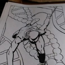 Cómics: SPIDER SCARLATA. PIN UP. ACO. ART COMIC ORIGINAL. Lote 70451477