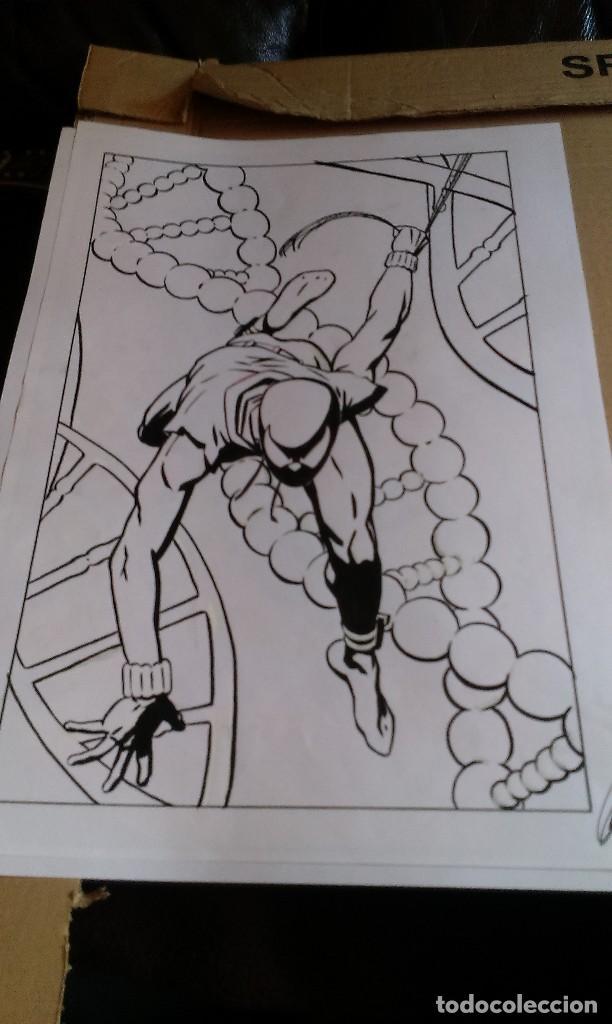 Cómics: Spider Scarlata. Pin Up. ACO. Art Comic Original - Foto 2 - 70451477