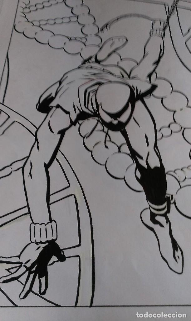 Cómics: Spider Scarlata. Pin Up. ACO. Art Comic Original - Foto 4 - 70451477