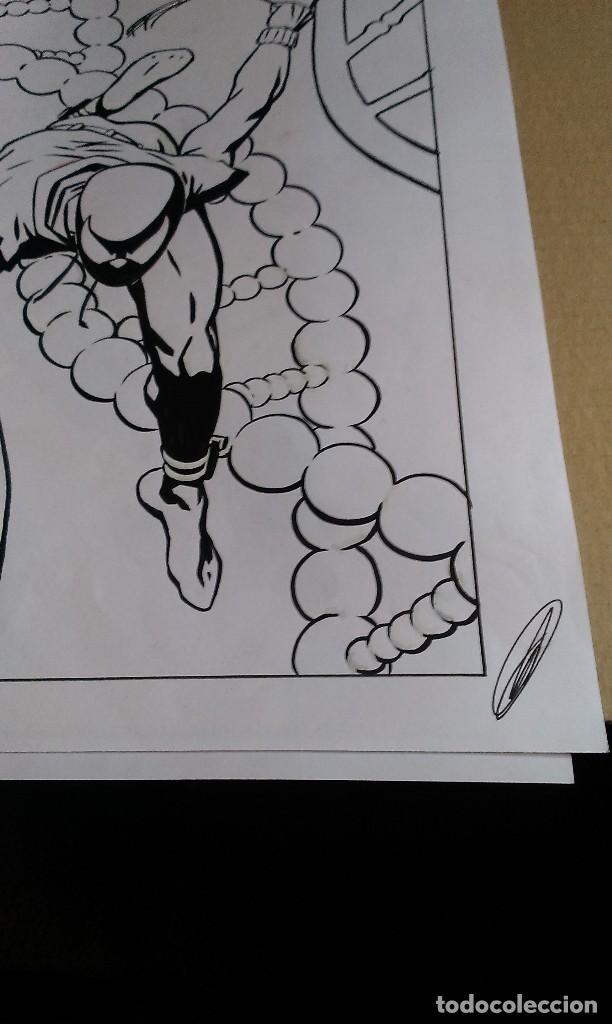 Cómics: Spider Scarlata. Pin Up. ACO. Art Comic Original - Foto 6 - 70451477
