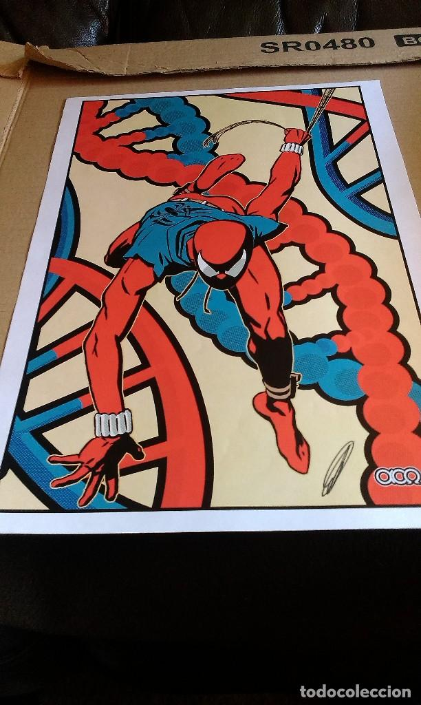 Cómics: Spider Scarlata. Pin Up. ACO. Art Comic Original - Foto 7 - 70451477
