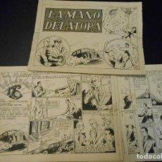 Cómics: MONOGRAFICO DE EDITORIAL AGUILAR - DIBUJO ORIGINAL NUMERO COMPLETO - NO PUBLICADO. Lote 71408271