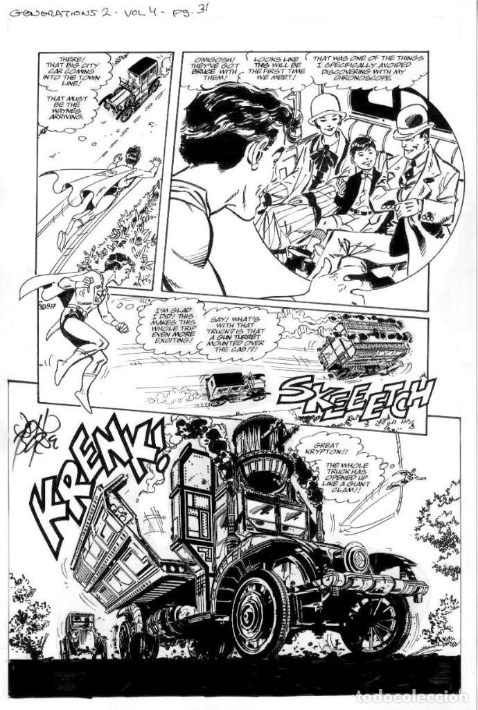 (JOHN BYRNE ORIGINAL COMIC ART) GENERATIONS2NÚMERO4 PÁGINA, 31 PAGINA ORIGINAL ART (Tebeos y Comics - Art Comic)