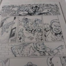 Cómics: SPIDERMAN SPIDER-MAN .FAMILY.6. RAMON BACHS.ART COMIC ORIGINAL.. Lote 72113331