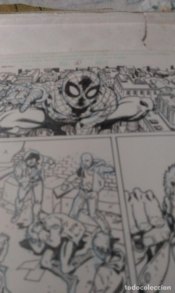 Cómics: Spiderman Spider-man .Family.6. Ramon Bachs.Art comic original. - Foto 3 - 72113331