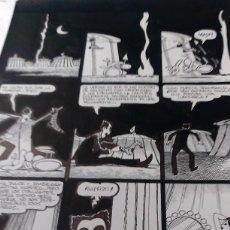 Cómics: VENTURA NIETO.EL JUEVES ESPECIAL 20 AÑOS. ART COMIC ORIGINAL. Lote 72116903