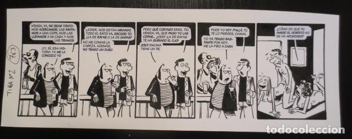 ORIGINAL BALDOMERO DE PALLARES (Tebeos y Comics - Comics - Art Comic)