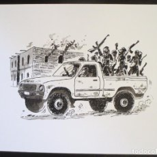 Comics : DIBUJO ORIGINAL DE PALLARES. Lote 72147591