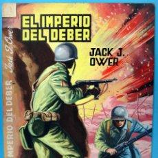 Cómics: DIBUJO ORIGINAL COLOR , COLECCION COMANDOS Nº 152 , JOSE LUIS , EL IMPERIO DEL DEBER , L. Lote 73777123