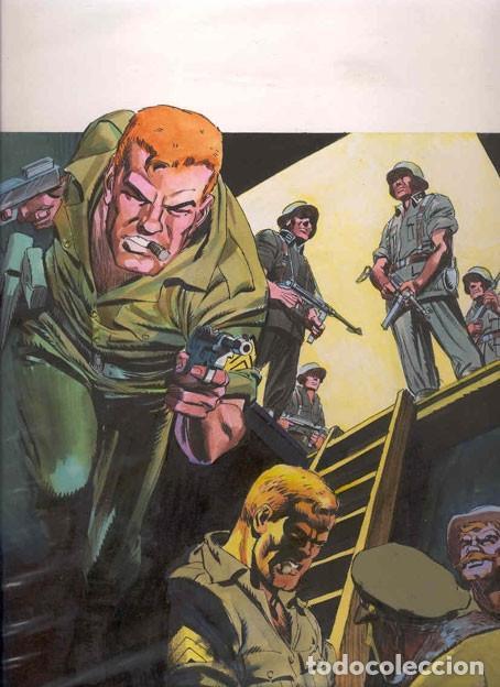 PORTADA ORIGINAL DE LÓPEZ ESPÍ. SARGENTO FURIA Nº 2. VOLUMEN 2. (Tebeos y Comics - Art Comic)