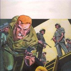 Cómics: PORTADA ORIGINAL DE LÓPEZ ESPÍ. SARGENTO FURIA Nº 2. VOLUMEN 2. . Lote 74863223