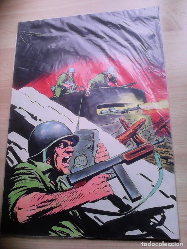 PORTADA ORIGINAL DE LÓPEZ ESPÍ. SARGENTO ROCK Nº 4. VOLUMEN 1. (Tebeos y Comics - Art Comic)