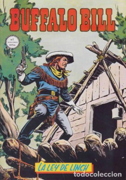 Cómics: Portada original Lopez Espi Buffalo Bill 7 + comic - Foto 2 - 79869617