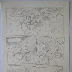 Cómics: PAGINA ORIGINAL DISNEY COMIC ART PATO DONALD DE BANCELLS. Lote 57416350