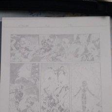 Cómics: X-TREME X MEN, Nº 3, PÁG. 12, ORIGINAL ART/PLANCHA/ARTE ORIGINAL DE SALVADOR LARROCA. Lote 84598464