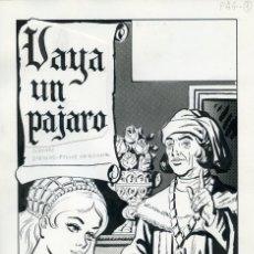 Cómics: 32 PÁGINAS ORIGINALES DE CÓMIC. FELIPE HERRANZ. AÑÓS 70. Lote 85708544