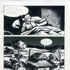 Cómics: PÁGINA ORIGINAL DE CÓMIC. FELIPE HERRANZ. AÑOS 70. Lote 85715016