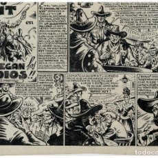 Cómics: RAYO KIT - Nº 1 - CUADERNILLO ORIGINAL COMPLETO EXCEPTO PORTADA - 14 HOJAS - JUAN GARCIA IRANZO -. Lote 86365988