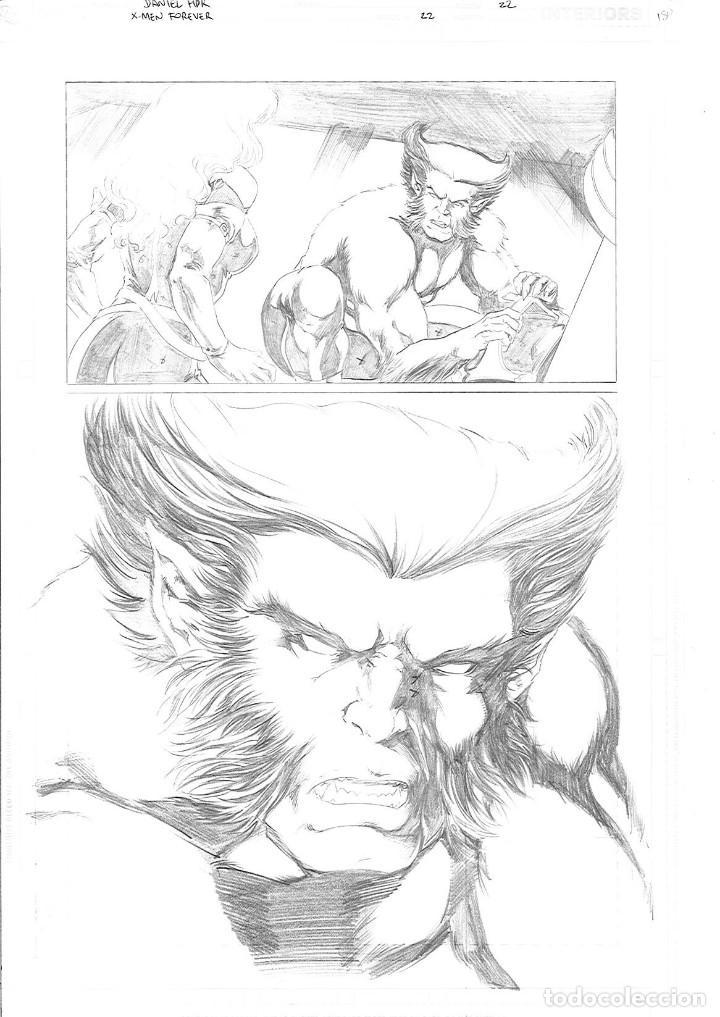 X MEN FOREVER # 22. PAGE 22 . DANIEL HDR (Tebeos y Comics - Art Comic)