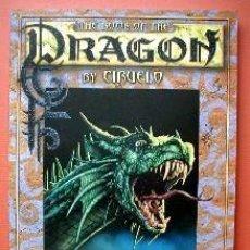 Cómics: THE BOOK OF THE DRAGON BY CIRUELO CABRAL (IMPRESIONANTE). Lote 87055040