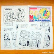 Cómics: LA BRUJA PERFIDIA - DIBUJOS ORIGINALES - LEYENDA Y FANTASIA Nº 7- E. MAGA 1951 - COMPLETO, VER FOTOS. Lote 87202020
