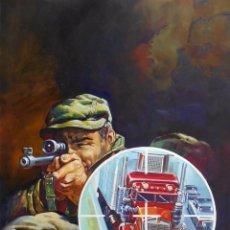 Cómics: F-81 RAFAEL LÓPEZ ESPÍ PORTADA ORIGINAL ALEMANA BASTEI TRUCKER-KING. GRAN TAMAÑO...36 X 50 CM.. Lote 87604960
