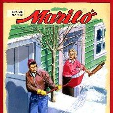 Cómics: DIBUJO ORIGINAL COLOR , JOSE LUIS , PORTADA DE MARILO Nº 153 , L. Lote 87651552