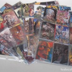 Cómics: BERNIE WRIGHTSON - TRADING CARDS - 90 CARTAS - COLECCIÓN COMPLETA - FPG CARDS - AÑO 1993.. Lote 88348416
