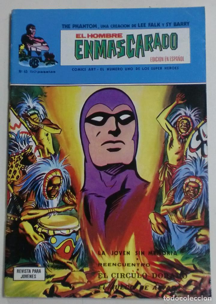 THE PHANTOM - EL HOMBRE ENMASCARADO - LEE FALK / SY BARRY - Nº45 - COMICS ART (Tebeos y Comics - Art Comic)