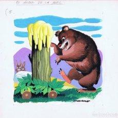 Cómics: ¡¡¡REBAJADO!!! ORIGINAL DE ARTURO MORENO EL ÁRBOL DE LA MIEL Nº 3. Lote 88862908