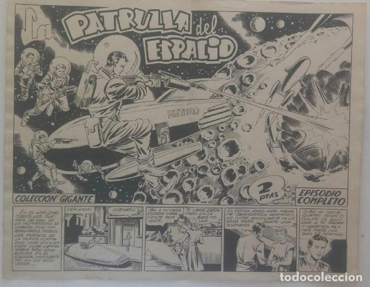 CUADERNILLO COMPLETO DE MARTÍNEZ OSETE LA PATRULLA DEL ESPACIO (Tebeos y Comics - Comics - Art Comic)