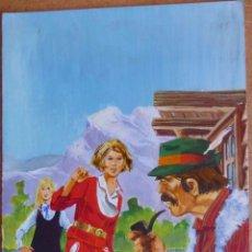 Cómics: PORTADA / PAGINA ORIGINAL DE AREDIT CATHY #180 (AUTOR BELLALTA). 1980.. Lote 89284234