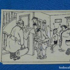 Cómics: DIBUJO ORIGINAL DE MALLOL - 15'5 X 11'5 CM, SEÑALES DE USO. Lote 89287664