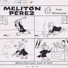 Cómics: ORIGINAL DEL TBO DE MARINO BENEJAM 1. Lote 90078724