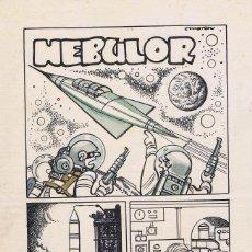 Cómics: ORIGINAL DE ARTURO MORENO NEBULOR. Lote 91537050