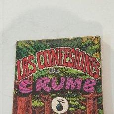 Cómics: LAS CONFESIONES DE CRUMB- 1º EDICION. Lote 91740150