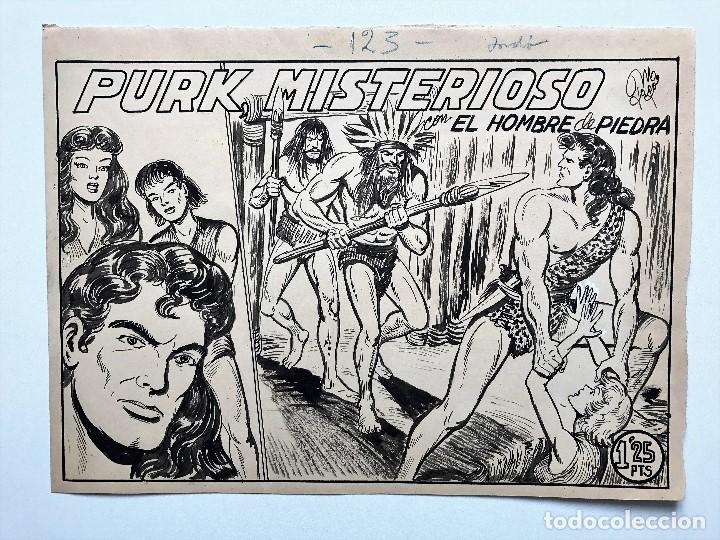 Cómics: Lote de tres cuadernos completos y originales de Purk - Manuel Gago - Foto 3 - 92708935