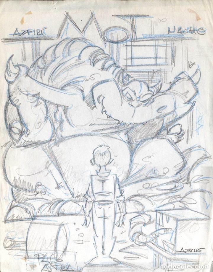 LOTE MOT POR AZPIRI (Tebeos y Comics - Comics - Art Comic)