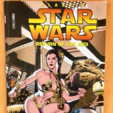 Cómics: CLASSIC STAR WARS RETURN OF THE JEDI BOXTREE LONDRES 1995 GUERRA DE LAS GALAXIAS BOCETOS SKETCHES. Lote 94976359