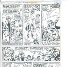 Cómics: SAL BUSCEMA. SPECTACULAR SPIDERMAN # 18 PAGINA 27. Lote 98107475