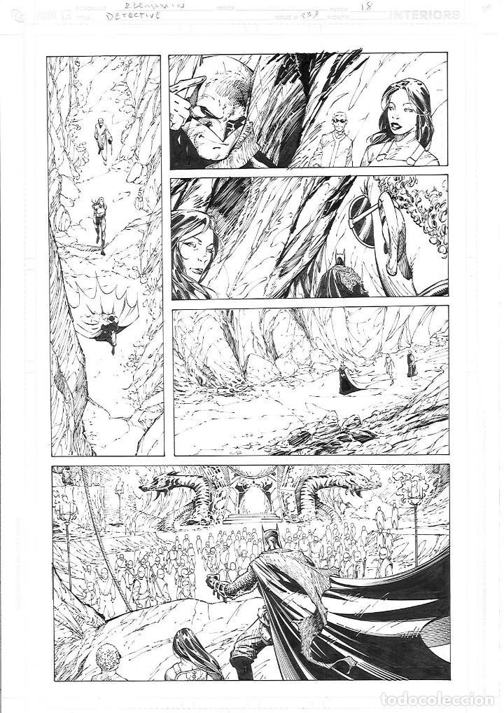RYAN BENJAMIN . DETECTIVE COMICS # 838 PAGE 18 (Tebeos y Comics - Art Comic)