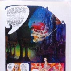Cómics: 92 PAGINAS PRUEBAS DE IMPRENTA ZORA Y LOS HIBERNAUTAS - FERNANDO FERNANDEZ - TAMAÑO DINA4. Lote 98539063