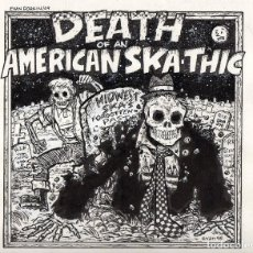 Cómics: EVAN DORKIN. PORTADA ORIGINAL DEL CD DEATH OF AN AMERICAN SKA-THIC. Lote 98912351