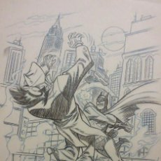 Cómics: BATMAN DIBUJO ORIGINAL. Lote 99101895
