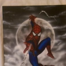 Cómics: SPIDERMAN ,SPIDER MAN ,PINTOR FRANCISCO LOPEZ ALFAYA, ART COMIC. Lote 99387403