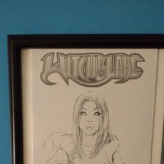 Cómics: WITCHBLADE PORTADA ALTERNATIVA/ ALTERNATIVE VARIANT COVER #44A #44JAYSKETCH JAY CO SKETCH CONVENTION. Lote 99792203