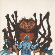 Cómics: ALFONSO AZPIRI DIBUJO ORIGINAL: ILUSTRACIÓN MULTIAVENTURA 1986. Lote 99797979