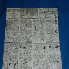 Comics: (AB1) DIBUJO ORIGINAL DE AURELIO BEVIA - QUE VECINOS - PUBLICADO EN LA RISA, EDT MARCO. Lote 100164111